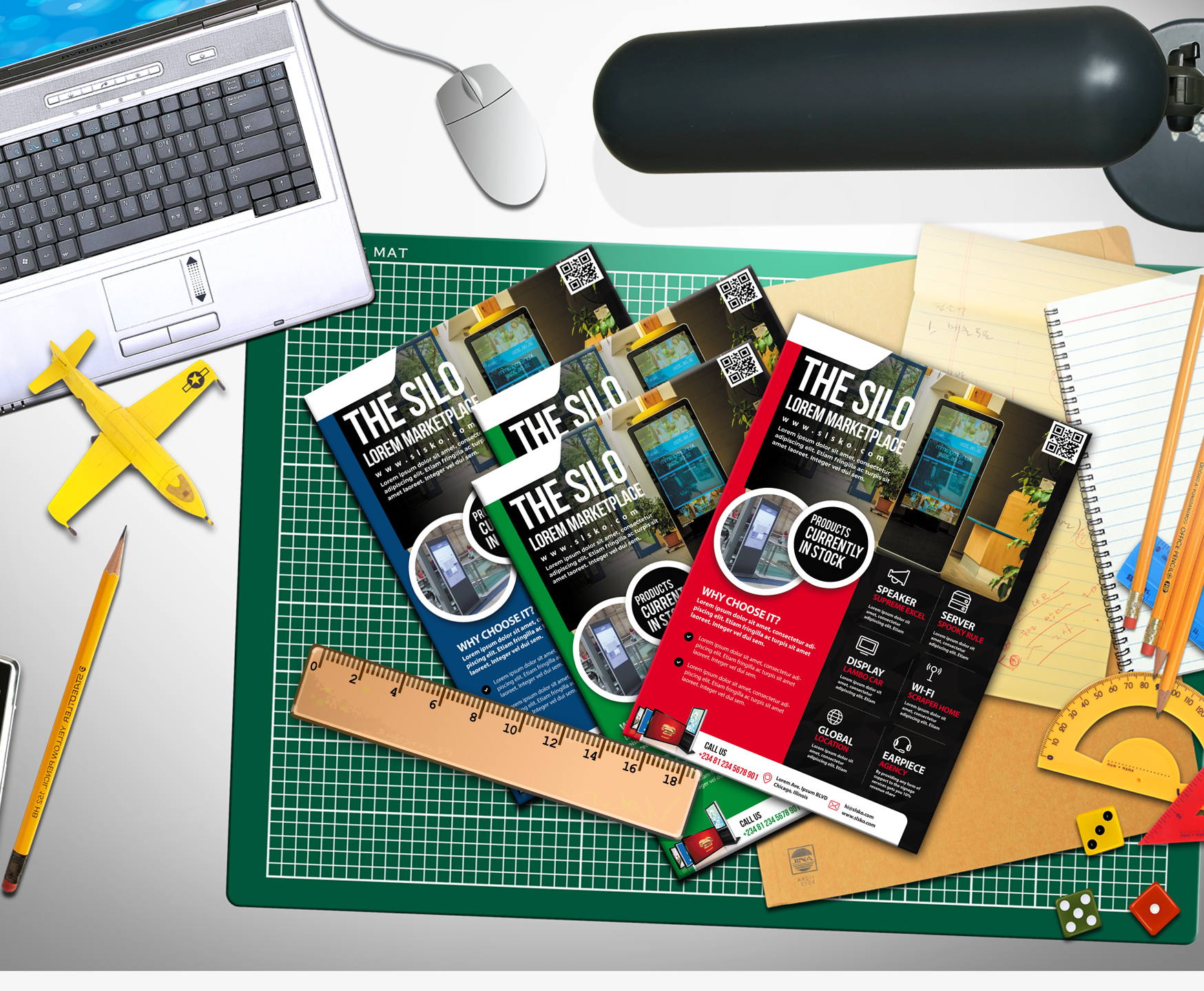 Free Business Flyer Template download PSD