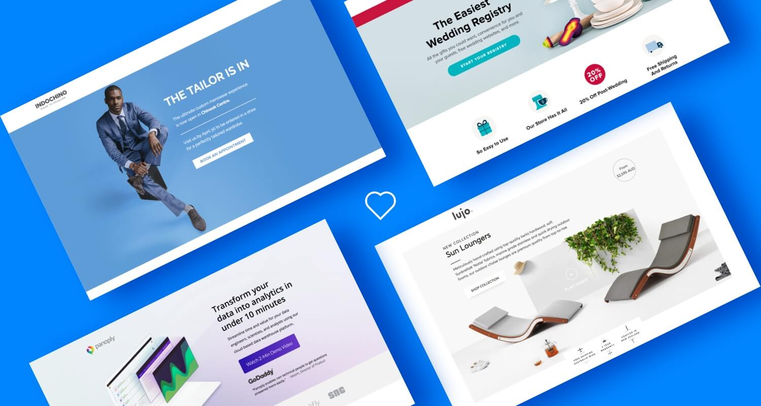 Dos and donts of website landing page design